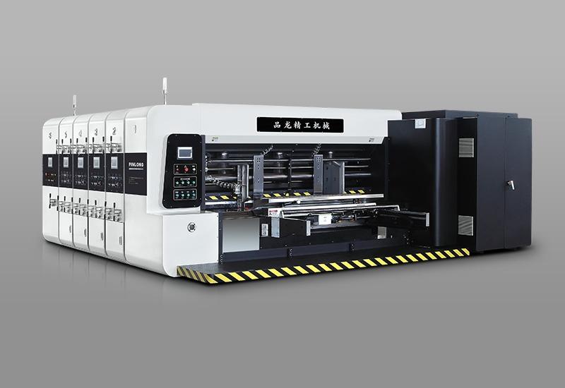 PL-Y5-A型标准版 四色印刷开槽模切机